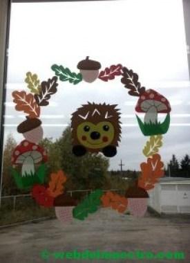 Ideas de otoño para decorar ventanas-2