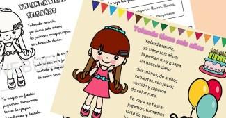 lecturas infantiles-letra Y funcion consonante-