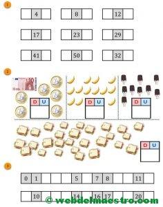 Cálculo mental-Ficha 1