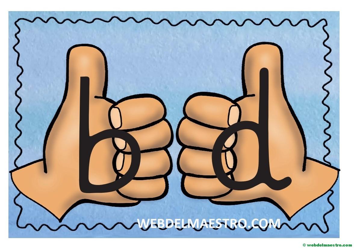 Aprender a escribir | Discriminar las letras b - d, p - q - Web ...
