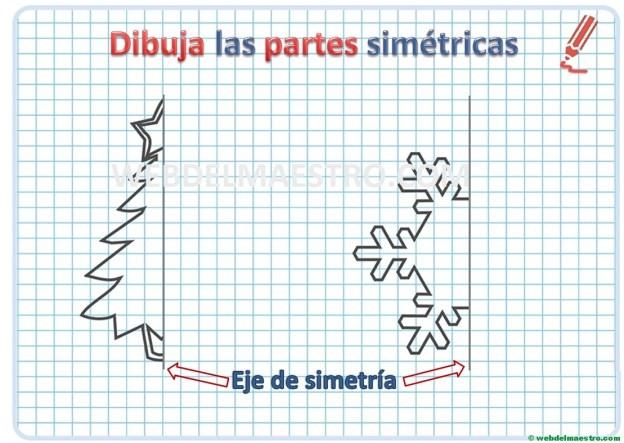 Dibujos simétricos-actividades