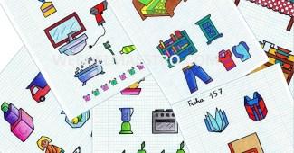 Dibujos en cuadricula-Rutinas