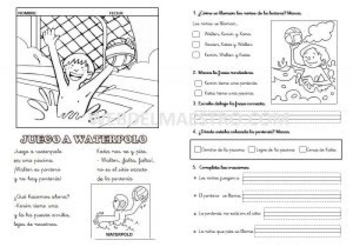 Lecturas-Letras K, X, W-cursiva