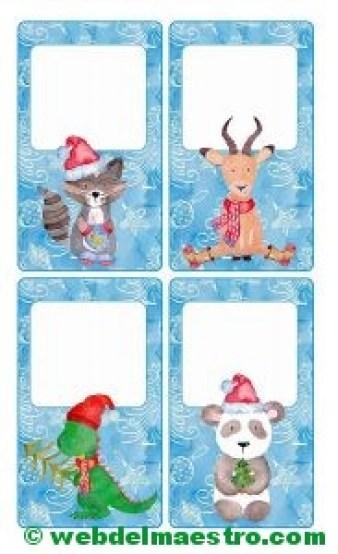 tarjetas de navidad personalizadas-tamaño mediano-2