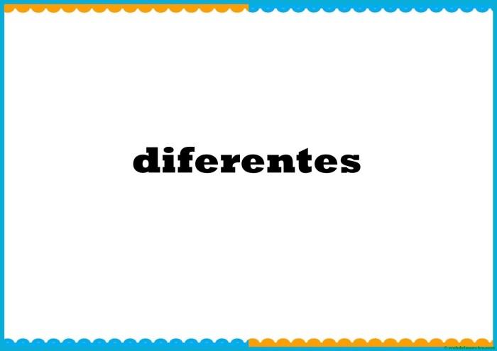 diferentes-