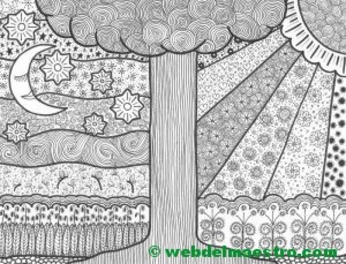 Dibujos Para Colorear E Imprimir Terapia Antiestres Web Del