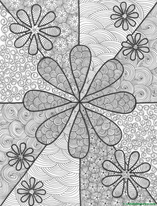 Dibujo nº 11-Flores-