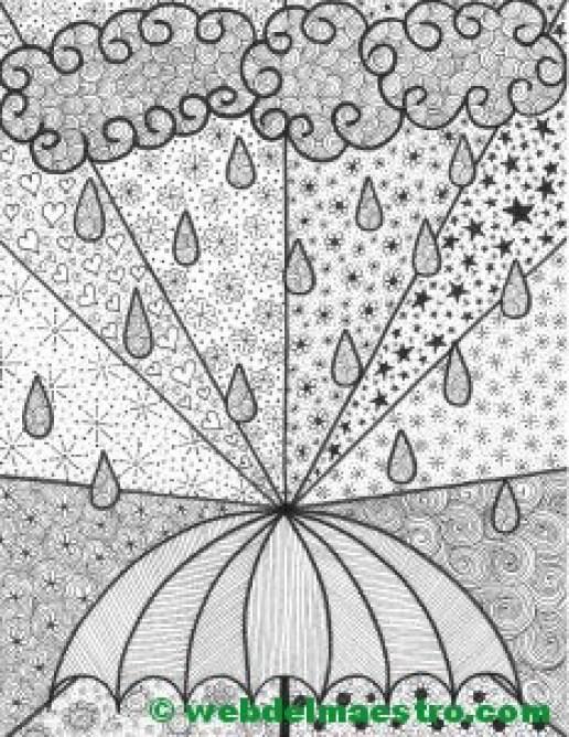 Dibujo nº 5-La lluvia