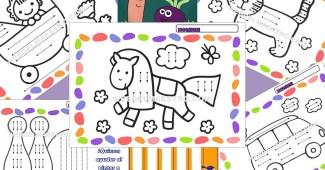 Fichas infantil 3 años para imprimir