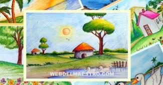 Paisajes fáciles de dibujar
