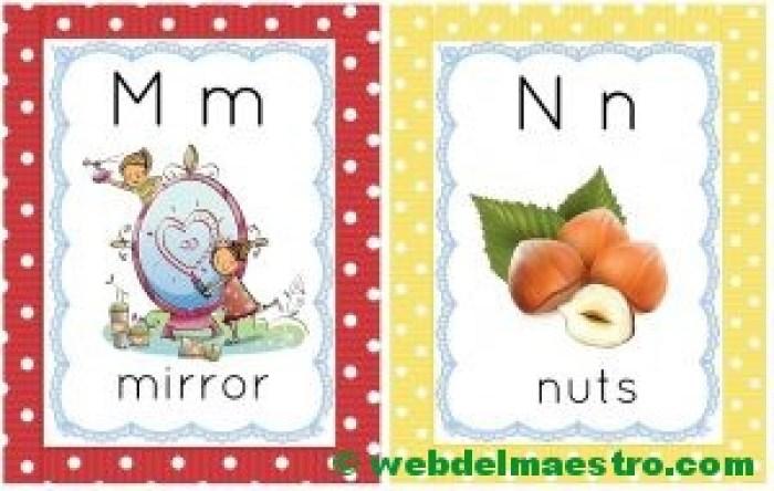 letras m-n