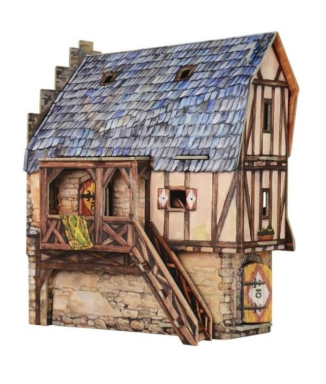 vivienda de la época medieval-2