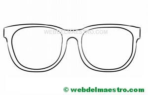 gafas para recortar