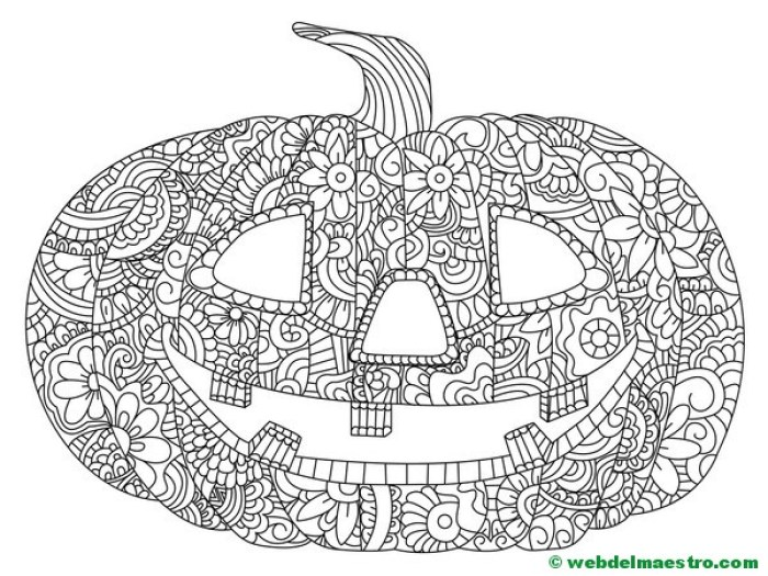 Calabaza de Halloween-11