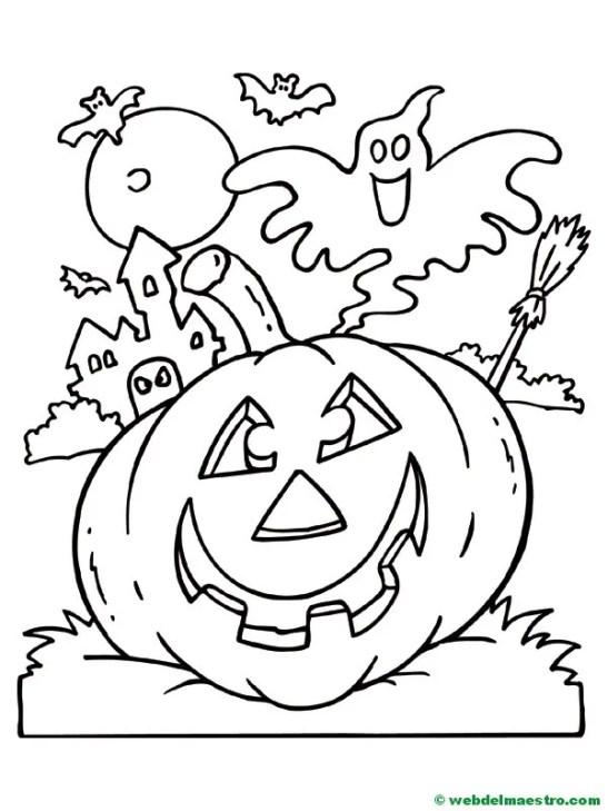 Calabaza de Halloween-3