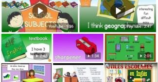 vocabulario en ingles-la escuela