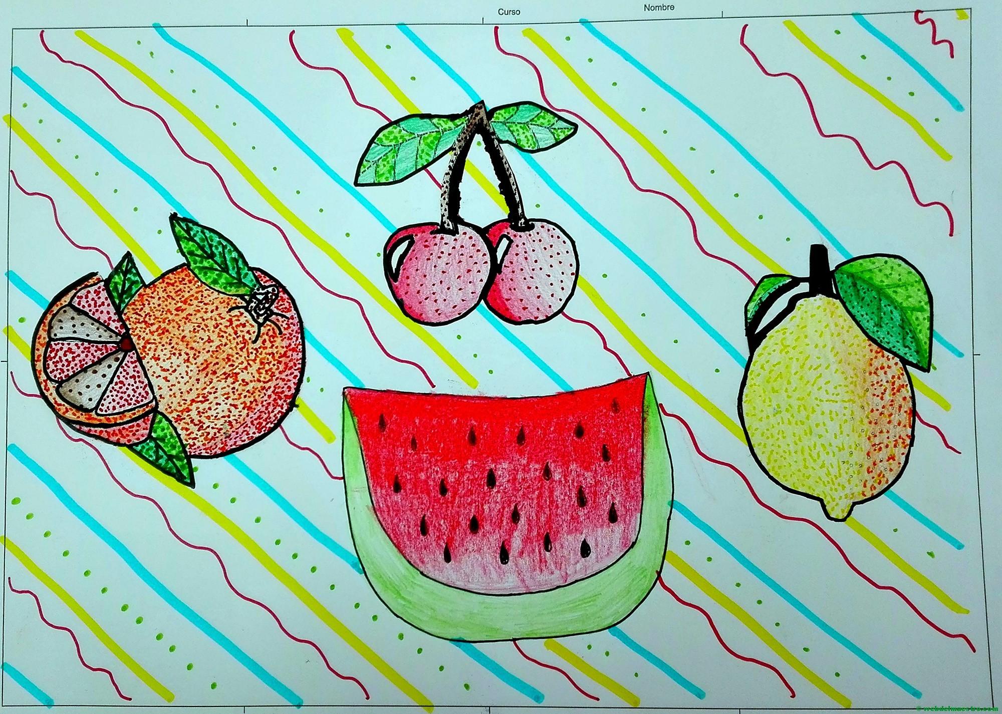 Educación Artística Bodegón De Frutas Web Del Maestro