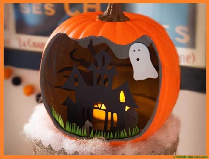 Tipos de diorama- Halloween