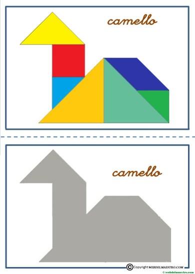 tangram-camello