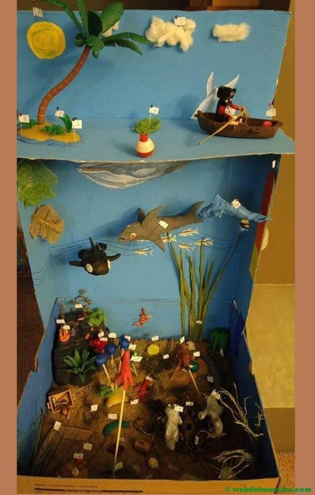 Diorama del mar--