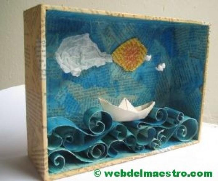 Diorama del mar