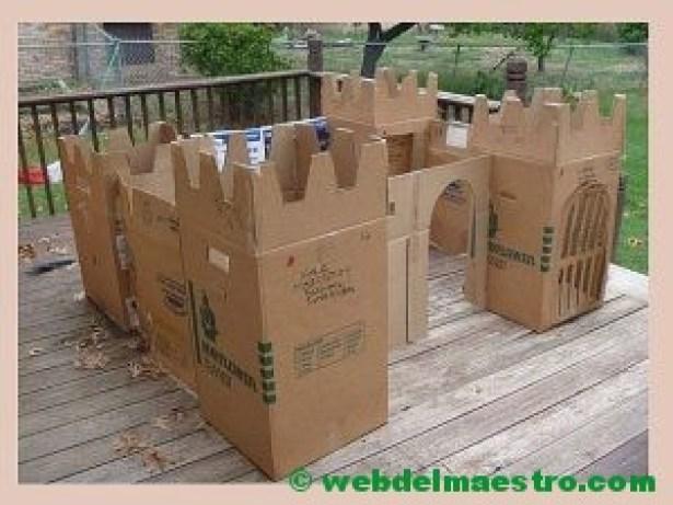 castillo de cartón-II