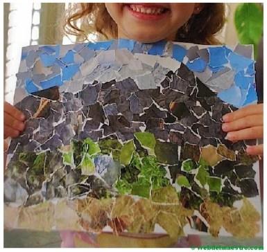 collage paisaje de principiante