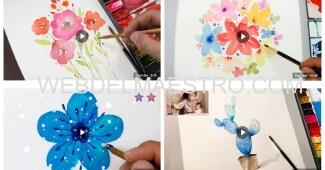 Pinturas-acuarelas para principiantes