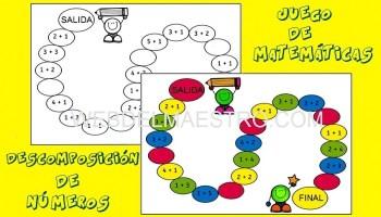 Juegos de matemáticas para imprimir - Web del maestro