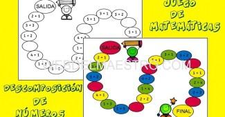 Juegos de matematicas-descomposicion de numeros