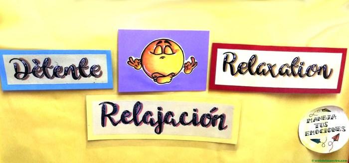 imágenes de emociones - relajación