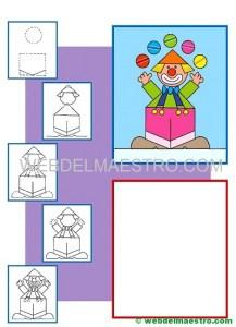 Como dibujar un payaso-