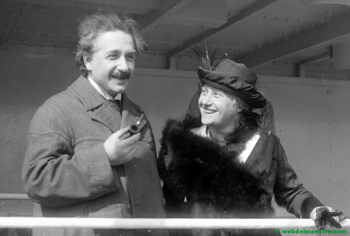 Albert Einstein en su vida adulta