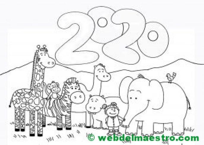 7. Imagen de 2020 para niños