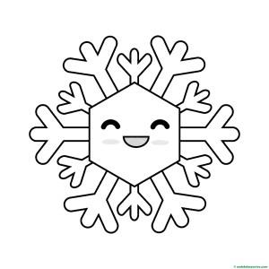 Copo de nieve 4