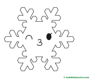 Copo de nieve 5