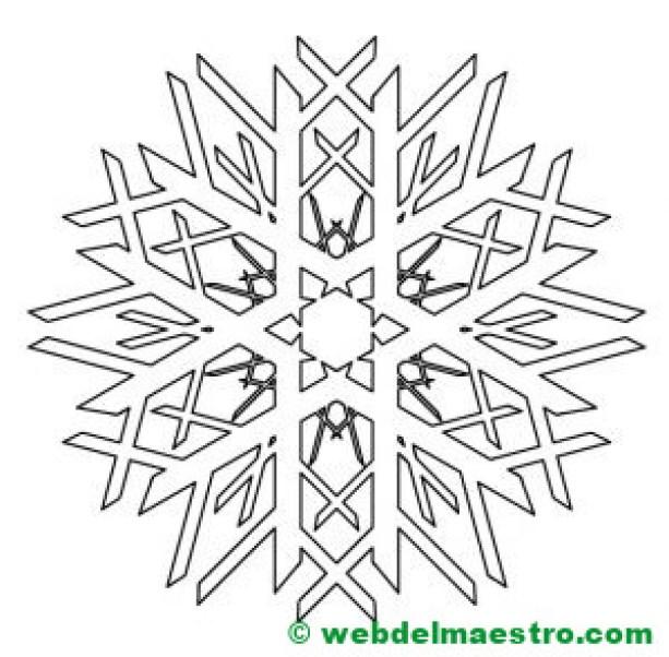 Copos de nieve-8