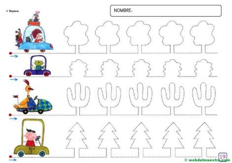 Grafomotricidad para niños de 4 años-