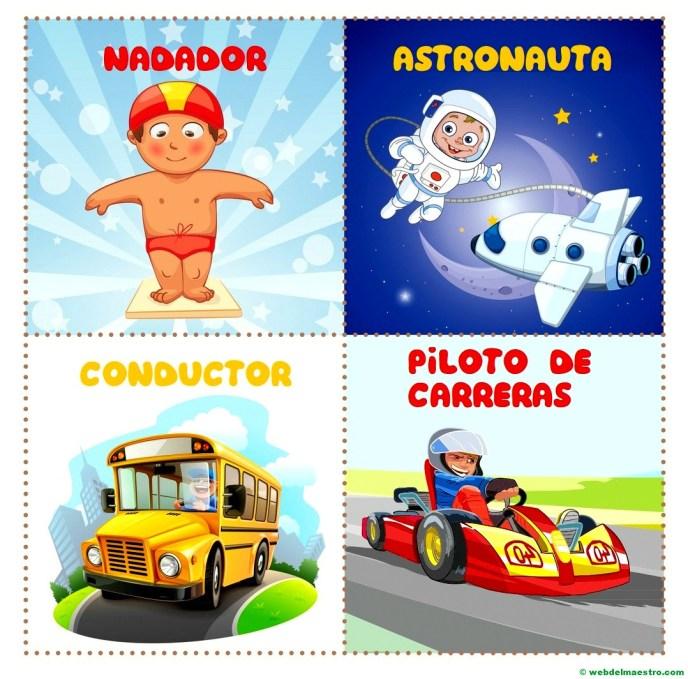 nadador-astronauta-conductor-piloto de carreras