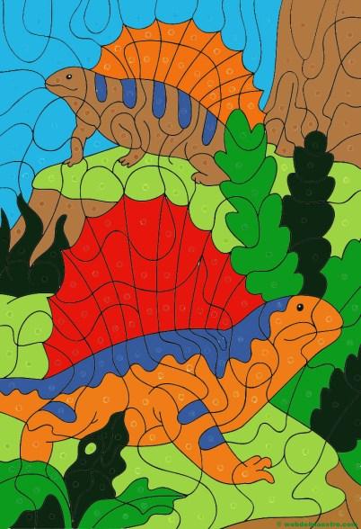 Dibujo de dinosaurios- 12