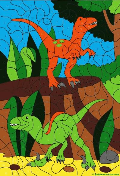 Dibujo de dinosaurios-26