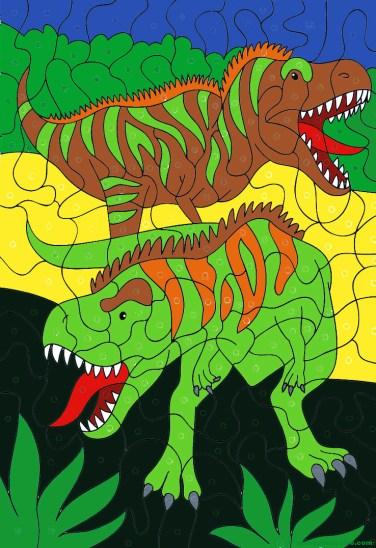 Dibujos de dinosaurios 9