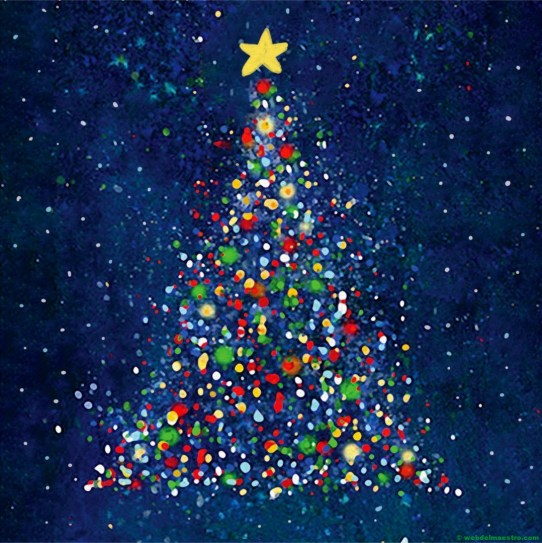 Dibujo de Navidad nº 3