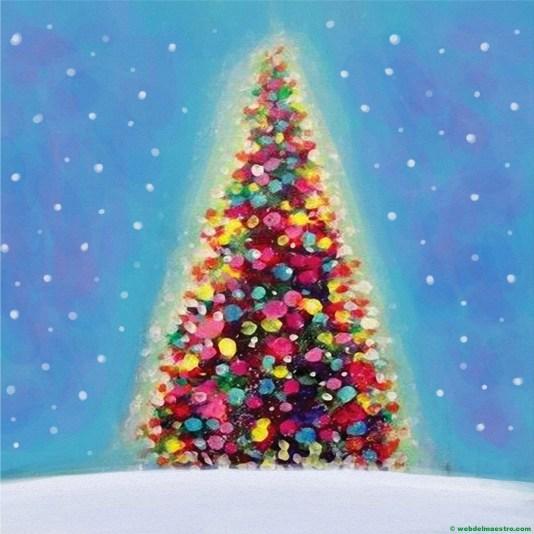 Dibujo de árbol de Navidad nº 1