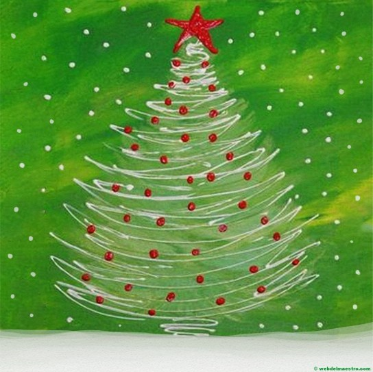 Dibujo de árbol de Navidad nº 7
