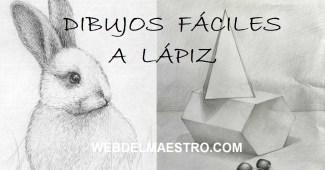 Dibujos a lápiz faciles