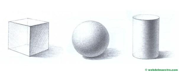 dibujo de cuerpos geométricos