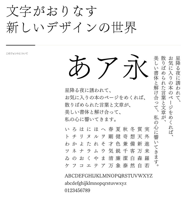 筑紫明朝B