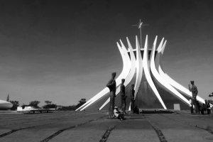 Brasília in black