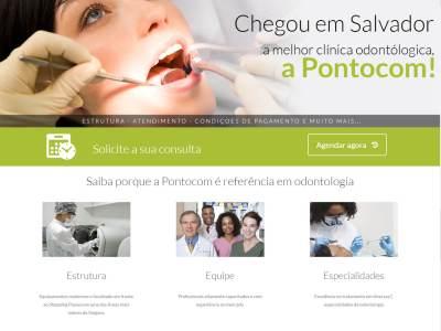 Clínicas Odontológica Pontocom